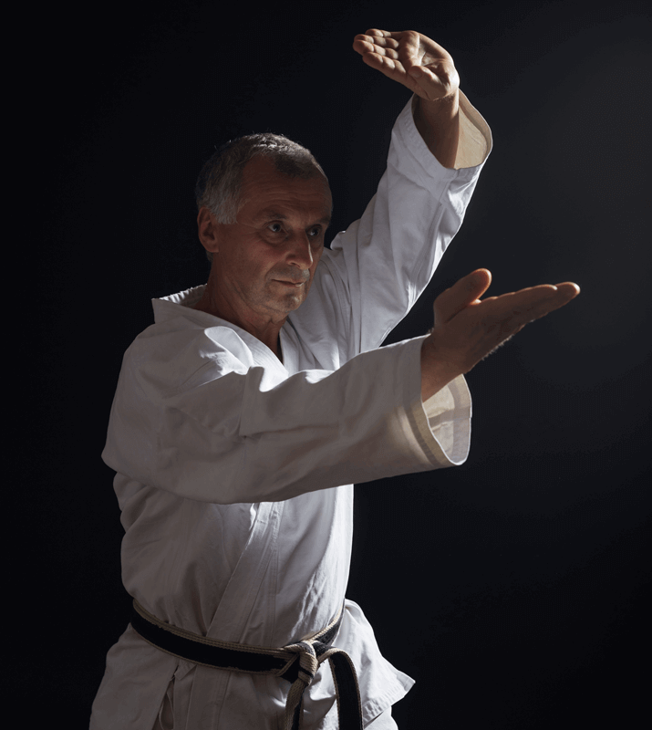 Martial Arts Lessons for Adults in King George VA - Older Man