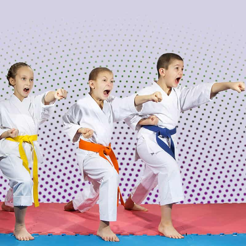 Martial Arts Lessons for Kids in King George VA - Punching Focus Kids Sync