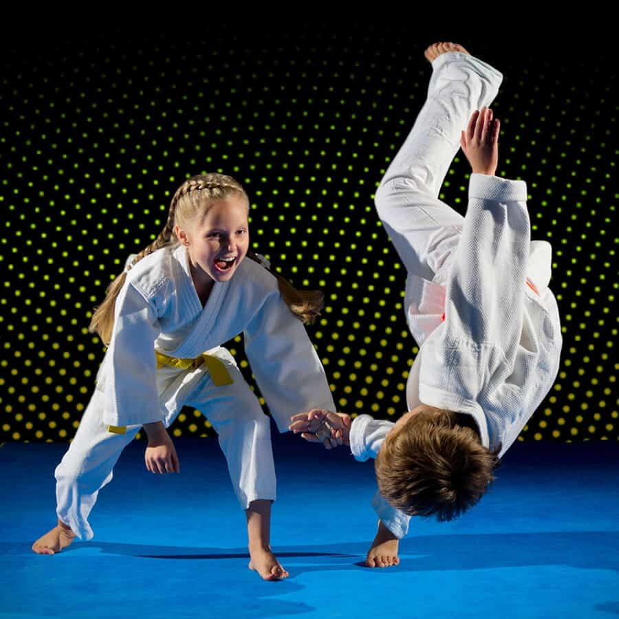 Martial Arts Lessons for Kids in King George VA - Judo Toss Kids Girl