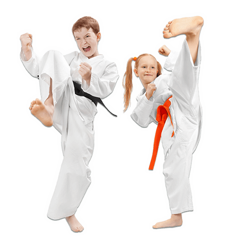 Martial Arts Lessons for Kids in King George VA - Kicks High Kicking Together