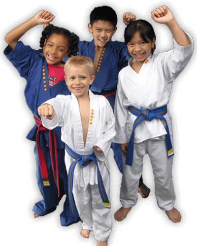 Martial Arts Summer Camp for Kids in King George VA - Happy Group of Kids Banner Summer Camp Page
