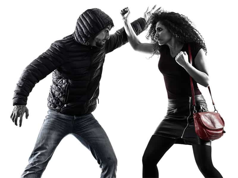 Self-Defense Program for Adults in King George VA - Blocking Punch Woman